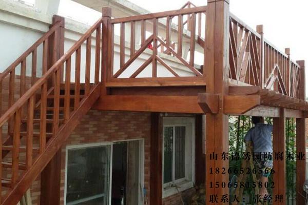楼梯木地板08